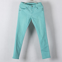 Women colour skinny jean stretched pants trousers New fashion sexy lady jeans top quality slim fitting coloured jean