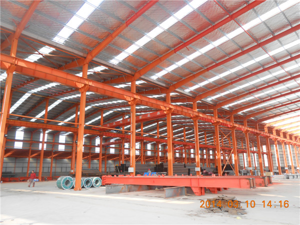 steel building design drawing industrial shed construction warehouse layout design