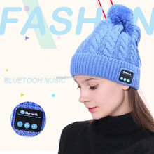 New Beanie Hat Phones Wireless Bluetooth Earphone Smart Headset Speaker Mic Winter Outdoor Sport Stereo Music Hat