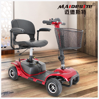 Buy best outdoor off road foldable electric battery mobility scooter moped for old people