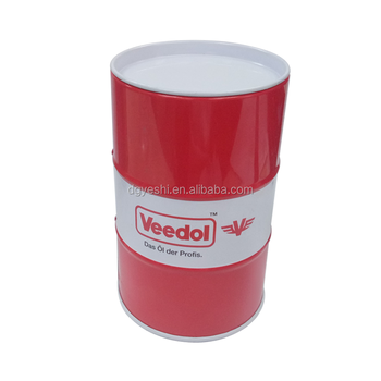 Factory Supply Customize Printed Oil Drum Metal Tin Coin Bank