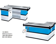 Used small modern design cashier counter pos checkout counter