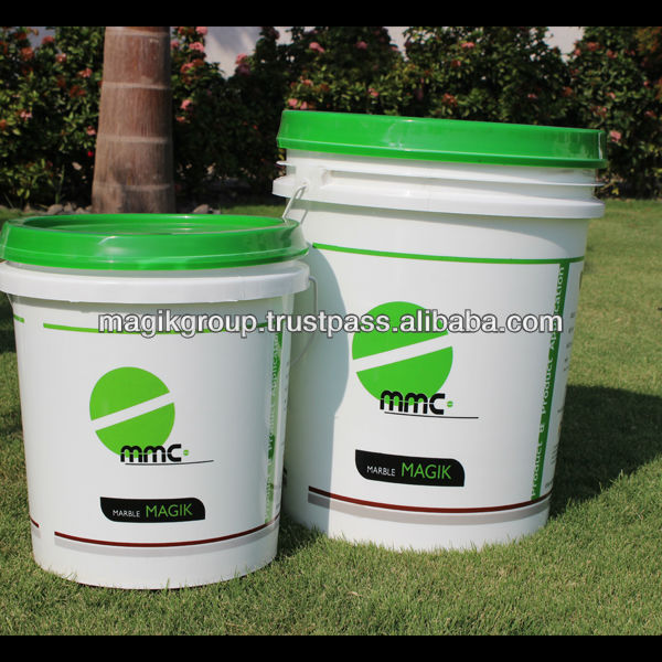 Fluoro polymer water base sealer