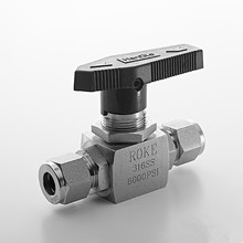 High Performance 6000 psi Ferrule 1/4 3/8 1/2 inch SS316 Ball Valve