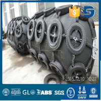 Pneumatic Fenders Used as Floating Docks