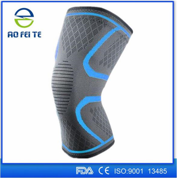 Knee Brace Compression Sleeve Sports Support Brace Pad for Running,Jogging,Basketball,Football Joint Pain Relief