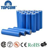 Cheap prcie rechargeable li-ion battery 3.7v 2000mah 18650 cylindrical battery for LED flashlight