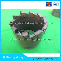 PDC core drill bit for water well drilling / blast hole