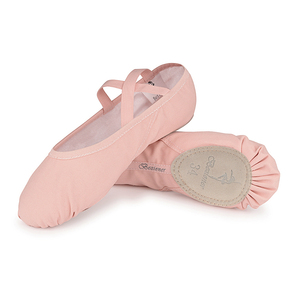 Canvas Girls Women Split Sole ballet shoes