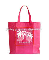 foldable customized nonwoven bag for sale ,custom design and print logo