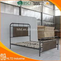 Special design high quality antique PU leather queen size bed frame