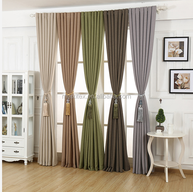 Home Decor Linen Blackout Curtains Hotel Used Curtains America Style Blackout Curtains Buy