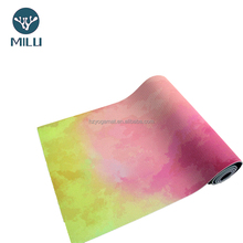 Price down cork yoga mat manufacturer sales nonslip black sublimation yoga mat and waterproof yoga mat cover