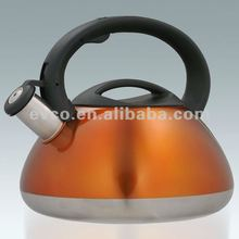 Sphere 3.0 Qt. Stainless Steel Whistling Tea Kettle - Metallic Bronze