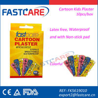 CE sterile lovely new product 2013 cartoon wound plaster