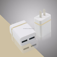 Wholesale Offer for iPhone Portable Charger Dual/sinlgeUSB Mobile Charger Cheap USB Wall Charger