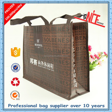 2015 customized high quality eco-friendly bopp lamination non woven shopping bags for promotion