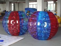 human inflatable belly bumper ball body ball