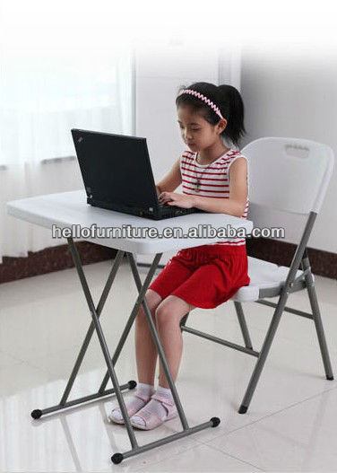 adjustable height folding table, children desks,personal table