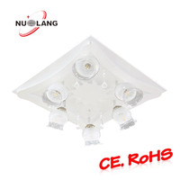Matt white lamp body funky lounge ceiling lights