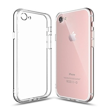 For iPhone 8 Case 5.5 Inch Soft Transparent TPU Gel 2mm Ultra Thin Silicone Protective Phone Cover Skin