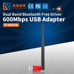 COMFAST Best Buy 600M Dual Band USB Wifi Adapter With 5dBi External Antennas Circumcision Device Wireless Networking Equipment