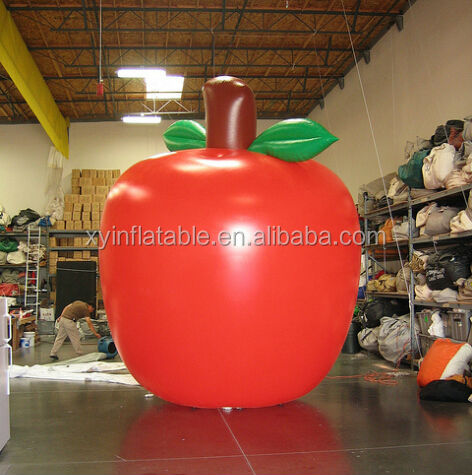 2014 Custom giant inflatable apple for parade