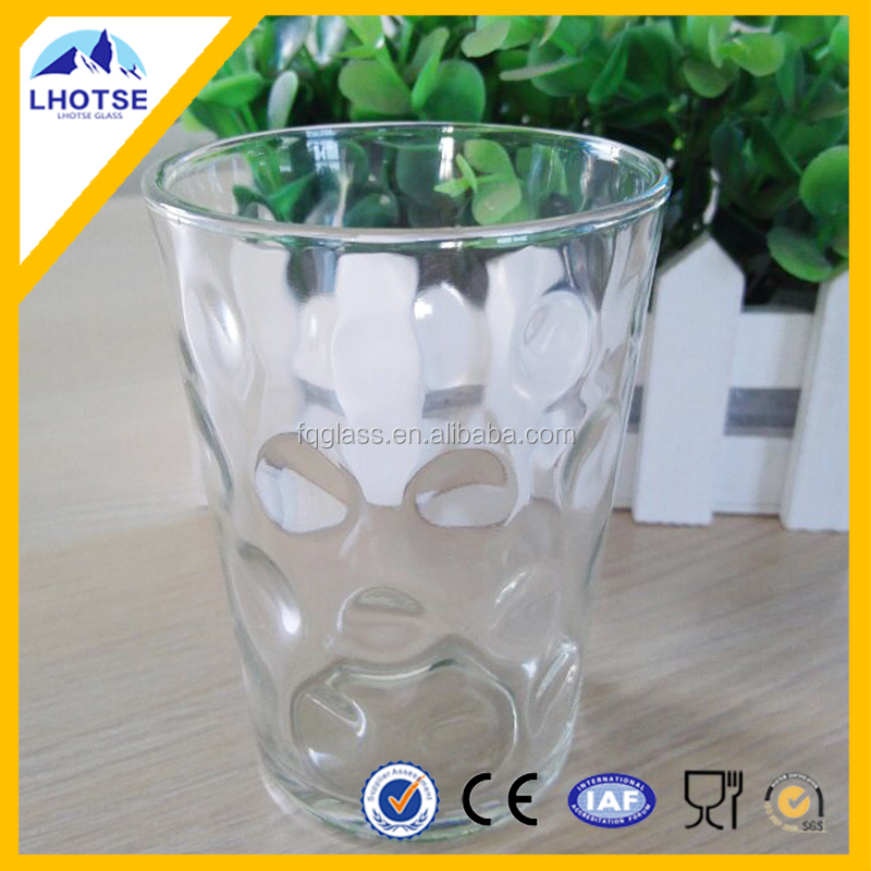 New Product Heat Resitant Round Glass Cup of Factory Directly Wholesale