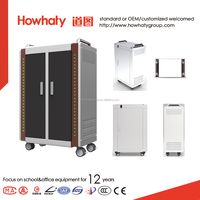 Tablet charging cabinet and storage cart with high quality and low price