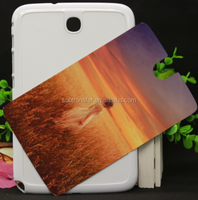 Whoelesale DIY 2D Sublimation Blank Plastic tablet for Samsung Note8.0, Cheap sublimation cell phone case