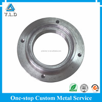 High Precision Mechanical Parts Custom CNC Stainless Steel Machined Flanges