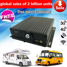 3G 4G Android ios live H.264 CMS surveillance dvr, 4 channels mobile mdvr