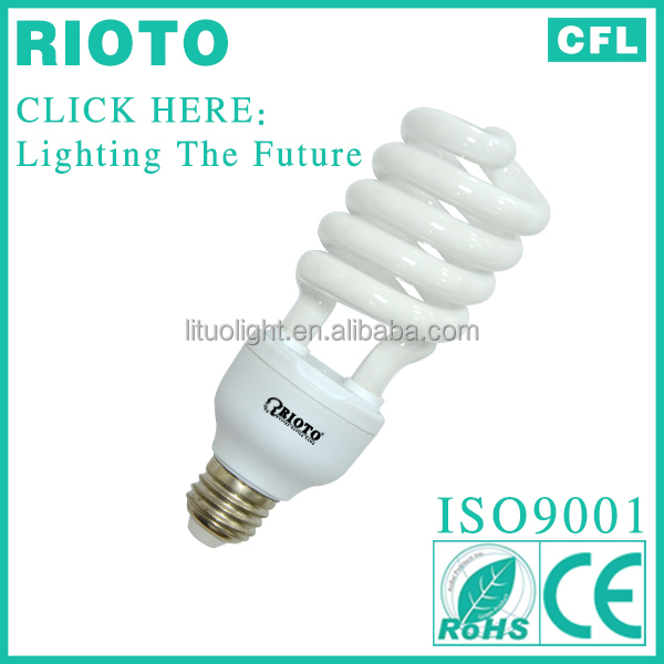 2017 New arrival 25w 8000hrs Half Spiral Energy Saving lamp cfl lighting hot sales in Iraq