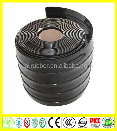Solid Black PVC Rolls curtains