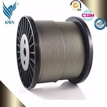 2016 hot 430 plastic coated stainless steel wire rope