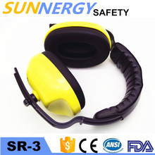 CE EN earmuff safety helmet custom logo abs hard hats with anzi z87.1 and ce en397 color box