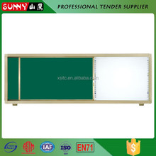 Hot sale factory electronic sliding white notice board