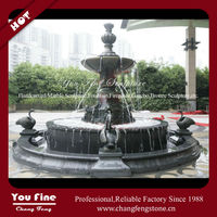 Large Outdoor Classic Cast Bronze Fountain