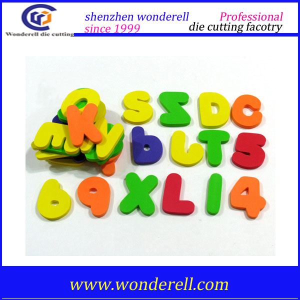 magnetic EVA foam toy alphabet letters for children