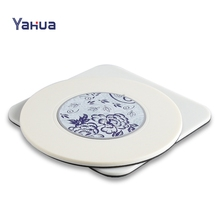 PP Plastic Promotion Premium Modern Coaster / Cup Mat / Cup Pad
