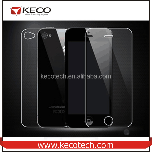 Front 9H Tempered Glass For iPhone 4/4S Screen Protector