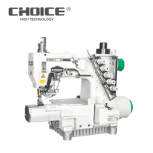 Direct-drive Auto-trimmering Computerized Small Cylinder-bed General Seam Interlock Industrial Sewing Machine GC787T-EST