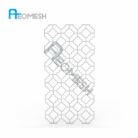 Made In Guangdong RP Construction materials iron decorative metal perforated sheets