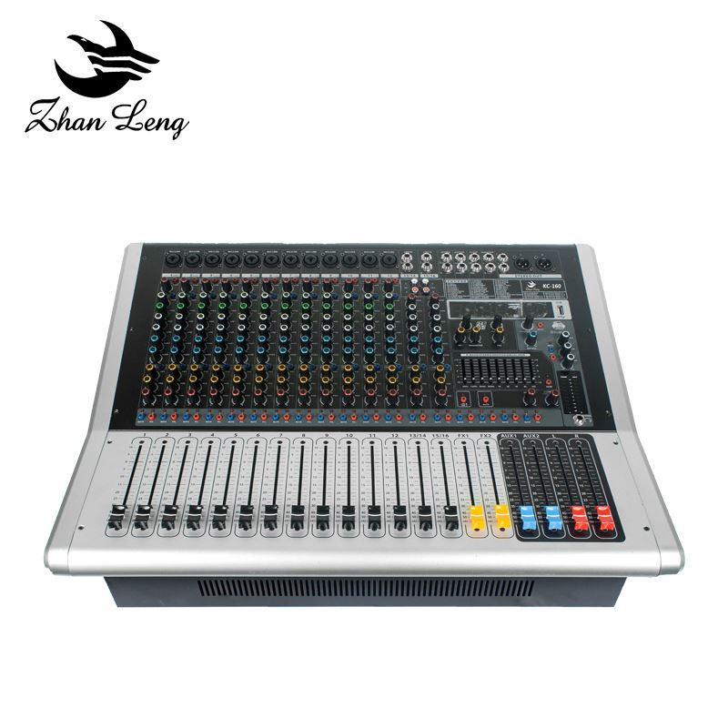 Good price professional dj sound mixing console mixer with built-in pre-amplifier