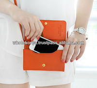 Smart mini bag / Smart phone pouch / Cross bag / Pouch / Leather pouch
