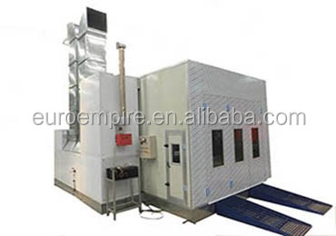 Factory price china supplier infra red lamp/spray booth/car painting room price