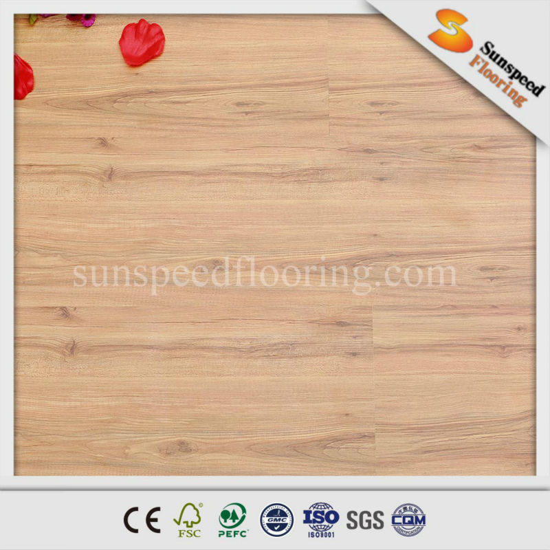12mm middle embossed easy clean hdf parquet wood flooring prices