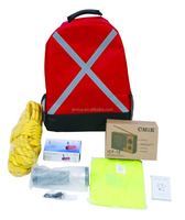 SOS First Aid Survival Emergency Kit Backpack bag With CE&FDA