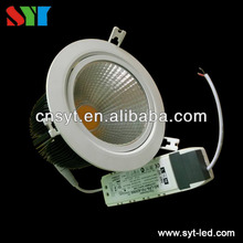 SAA dimmable anti-glare len COB 10W 13W 15W led downlight