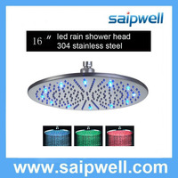 Standard American Connection Different Inch Shower Heads/Rainfall Shower Heads/LED Shower Heads
